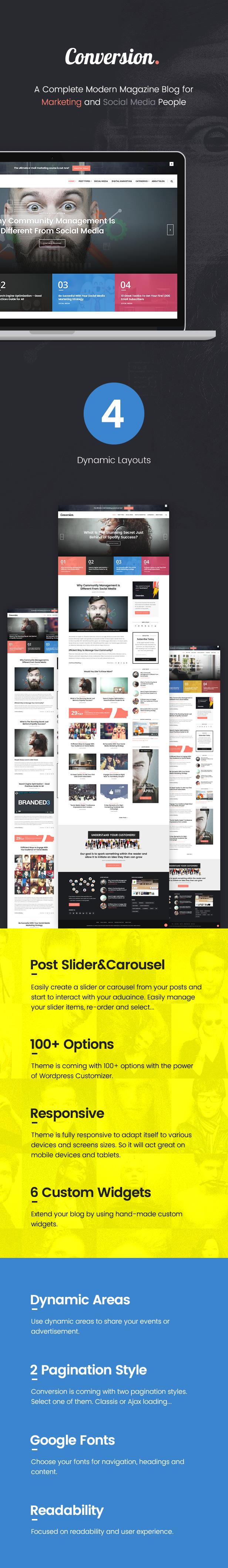 Ultimate Conversion - Digital Marketing Magazine Blog Theme - 1